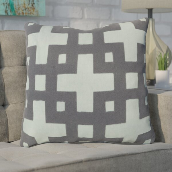 Cotton Throw Pillow by Mercury Row