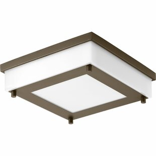 Shopping for Hankerson 1-Light Flush Mount By Latitude Run