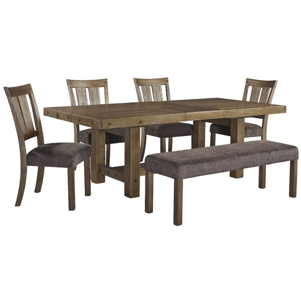 Etolin 6 Piece Extendable Dining Set by Loon Peak