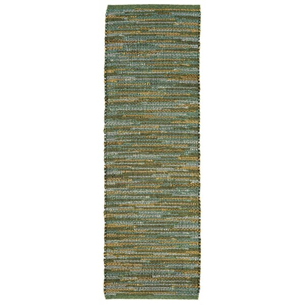 Sardis Hand-Woven Green Indoor/Outdoor Area Rug by August Grove August Grove