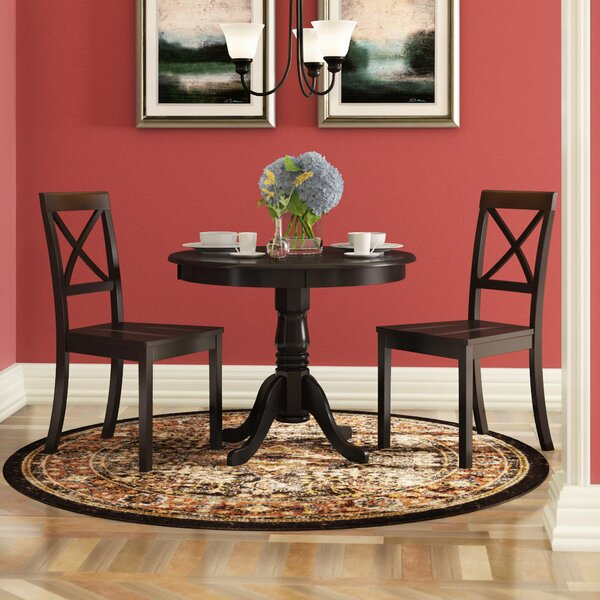 Boylan 3 Piece Dining Set by Charlton Home
