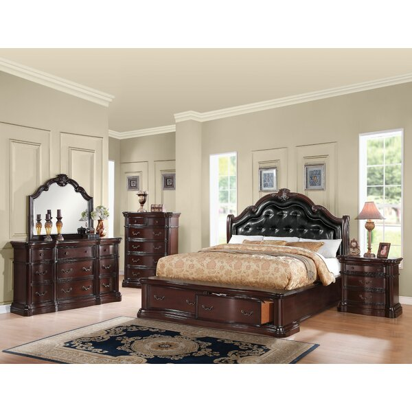 Tre Upholstered Storage Platform Configurable Bedroom Set by Astoria Grand