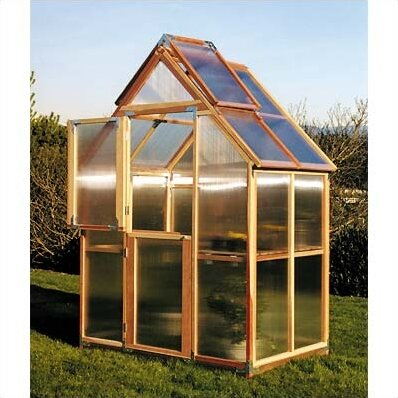 Mt. Hood 6 Ft. W x 4 Ft. D Greenhouse by Sunshine Gardenhouse
