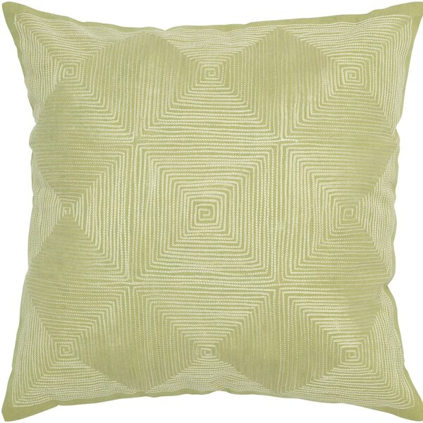 Decorative Accent Pillow Embroidered Details by Rizzy Home