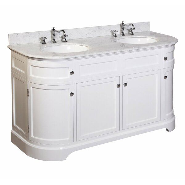 Montage 60 Double Bathroom Vanity Set by Kitchen Bath Collection