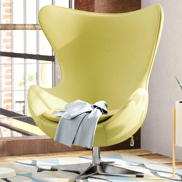 Fernanda Swivel Balloon Chair by Corrigan Studio