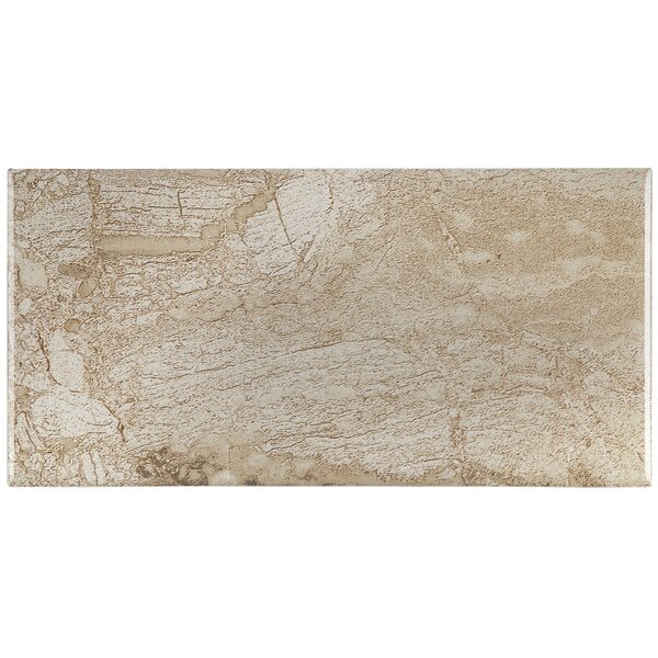Bedford 4 x 8 Ceramic Subway Tile in Highland Beige by Itona Tile
