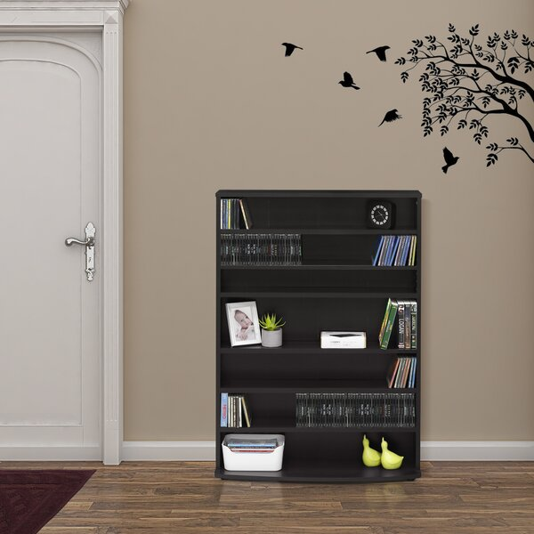 Crow 6-Tier Multimedia Storage Rack by Zipcode Design