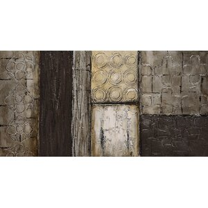 Stacked 2 Textured Metallic by Martin Edwards Painting by Empire Art Direct