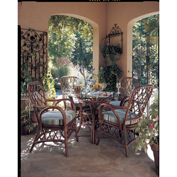 Sanders 5 Piece Dining Set by Bayou Breeze