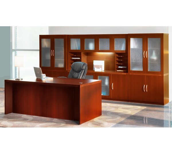 Aberdeen Series Standard Desk Office Suite by Mayline Group