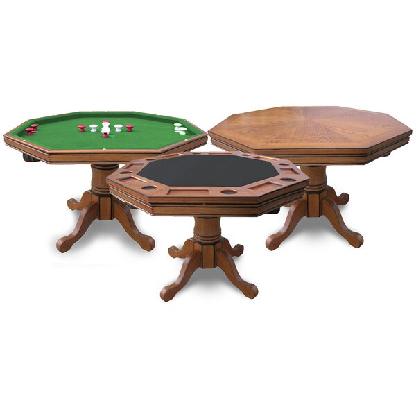 48 Kingston Poker and Bumper Pool Table by Hathaway Games