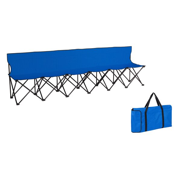 Portable Folding Camping Bench by Trademark Innovations Trademark Innovations