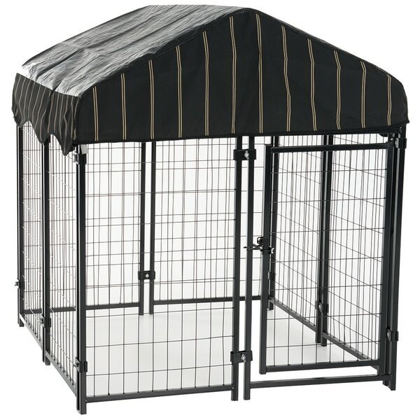 Alina Pet Resort Steel Yard Kennel by Tucker Murphy Pet