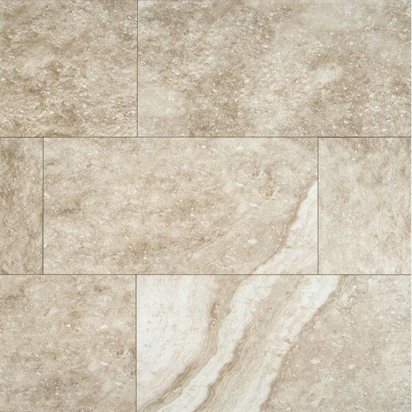 Aliso 12 x 24 Ceramic Field Tile in Gray by MSI