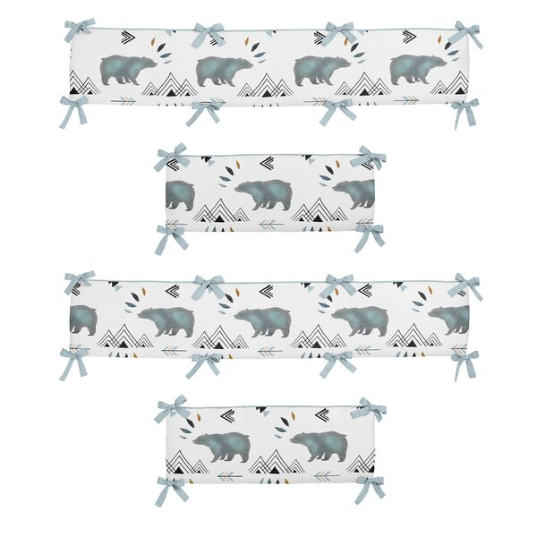 Bear Mountain Crib Bumper by Sweet Jojo Designs