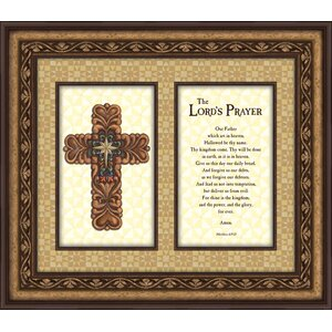 'The Lord's Prayer' Framed Graphic Art by CB Gift