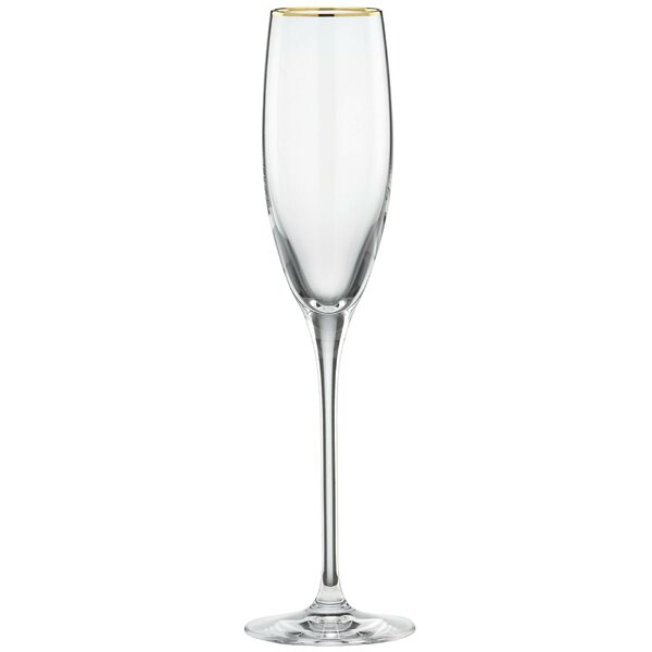 Timeless Gold Signature 8 oz. Champagne Flute by Lenox