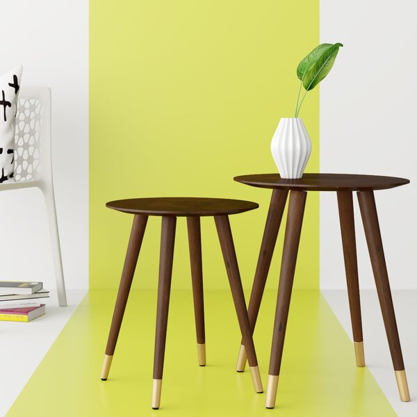 Althea 2 Piece End Table Set by Hashtag Home