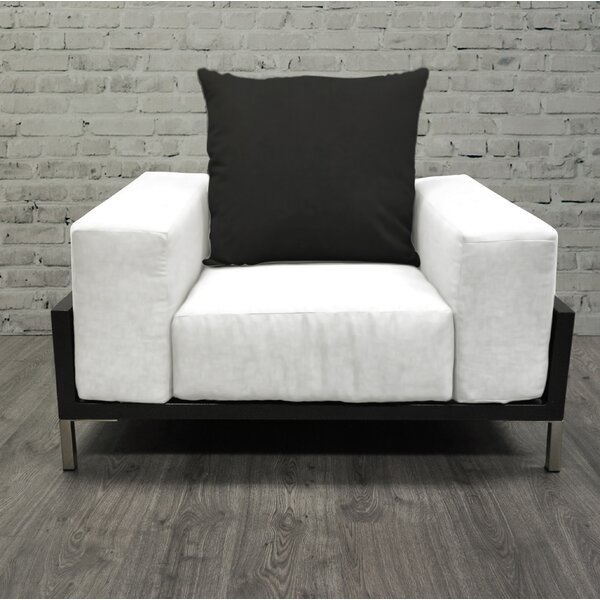 Tilly Deep Seated Patio Chair with Cushions by Orren Ellis