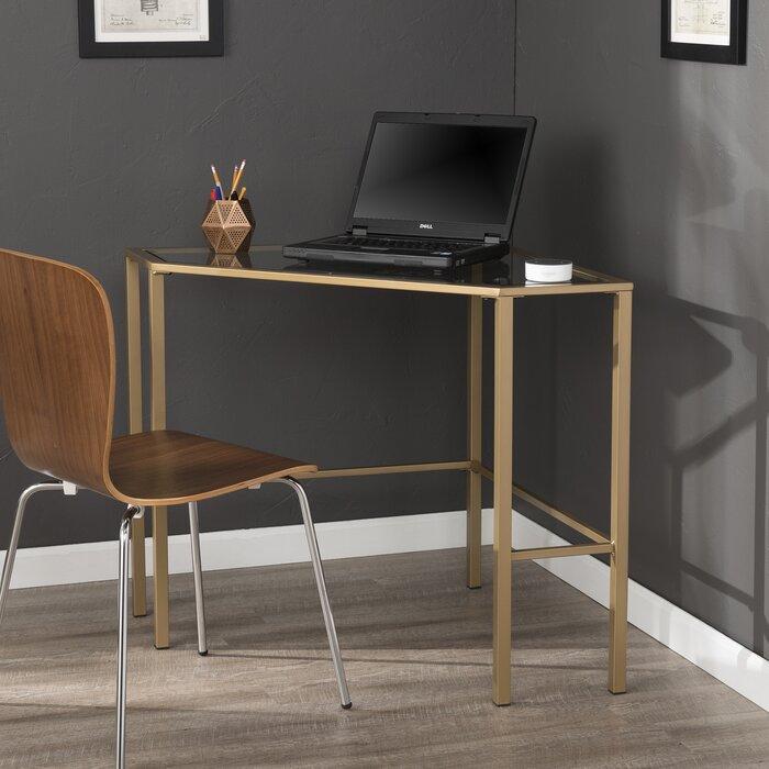 Coopers Glass Corner Desk