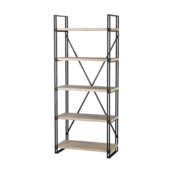 Marek 5 Layer Etagere Bookcase by Gracie Oaks