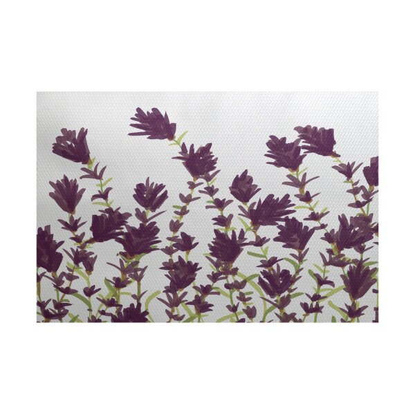 Orchard Lane Purple Indoor/Outdoor Area Rug by Alcott Hill