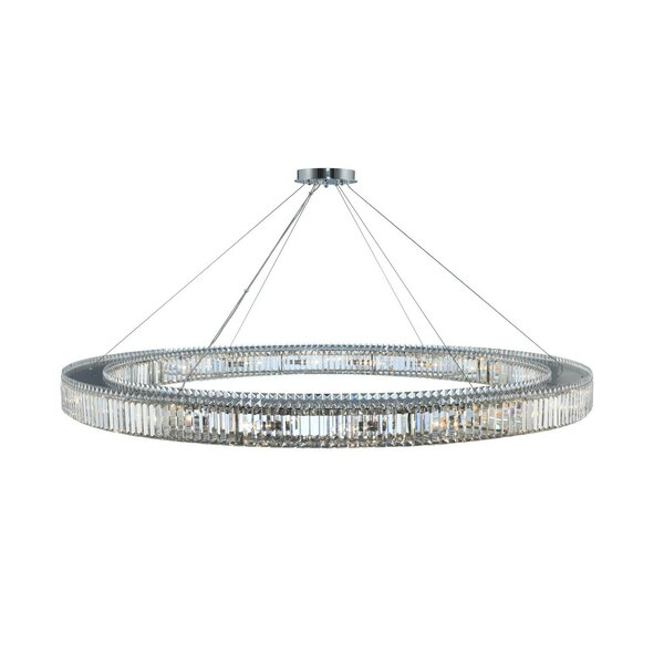Richwood 20-Light Unique / Statement Wagon Wheel Chandelier By Everly Quinn