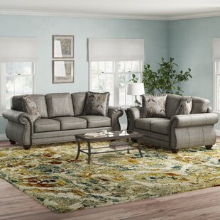 Macalla Faux Leather Living Room Set by Canora Grey