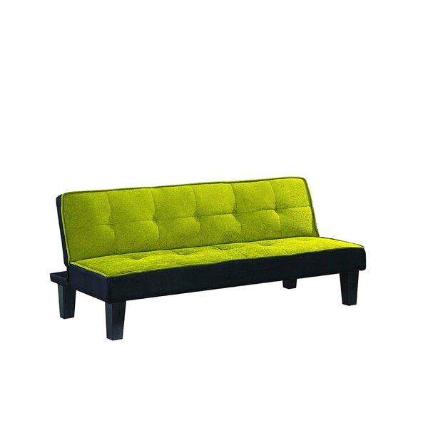 Gulbranson Flannel Fabric Sleeper Sofa by Ebern Designs