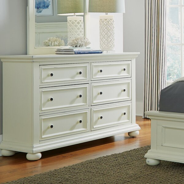 Rochford 6 Drawer Double Dresser by Three Posts