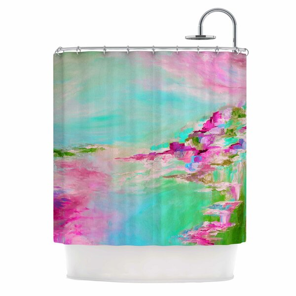 Something About the Sea 2 by Ebi Emporium Shower Curtain by East Urban Home