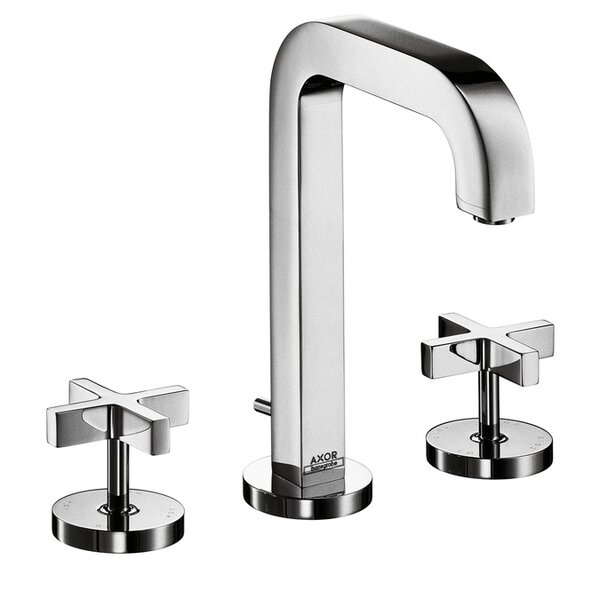 Axor Citterio Widespread Faucet with Cross Handles by Axor