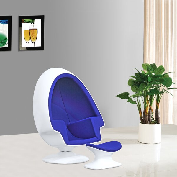 Alpha Lounge Chair by Fine Mod Imports