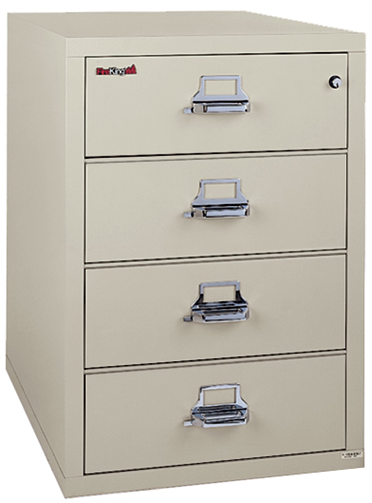 File Check Out Card fireproof 4-drawer card, check, and note vertical file cabinet