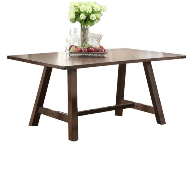 Gonsalves Simply Trimmed Dining Table by Gracie Oaks