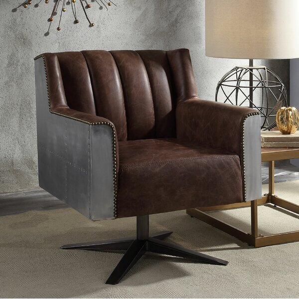 Wesley Executive Office Chair by 17 Stories