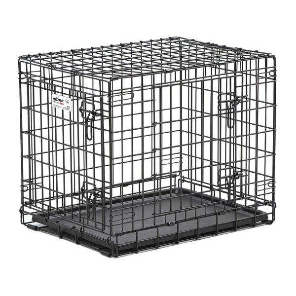 midwest homes for pets ultima pro fold and carry double door pet crate u0026 reviews wayfair