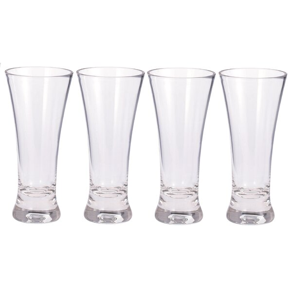 12 oz. Plastic Pint Glass (Set of 4) by Chenco Inc.
