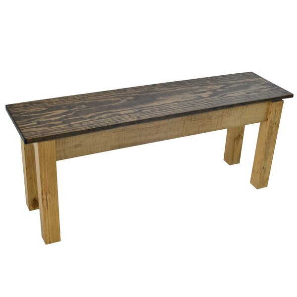 Clemens Solid Wood Bench by Foundry Select Foundry Select
