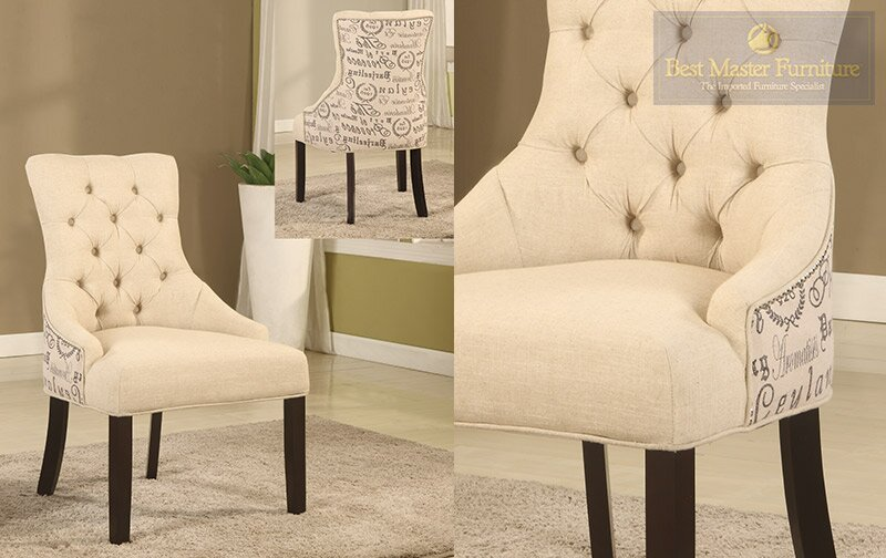 Natural Armchair Set Of 2 By Bestmasterfurniture Buy