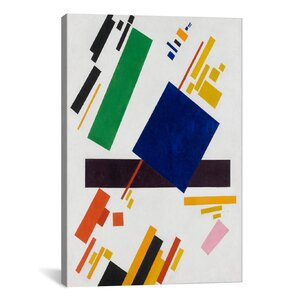 'Suprematist Composition, 1916' by Kazimir Malevich Graphic Art on Wrapped Canvas by iCanvas
