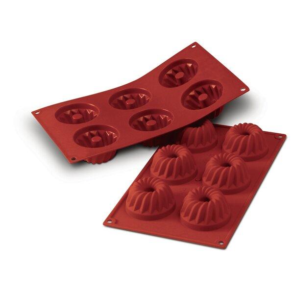 6 Bundt Mold by SilikoMart