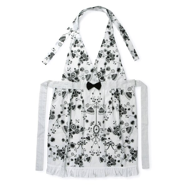 Miss Blackbirdy Cotton Flowerpot Apron by Heritage Lace
