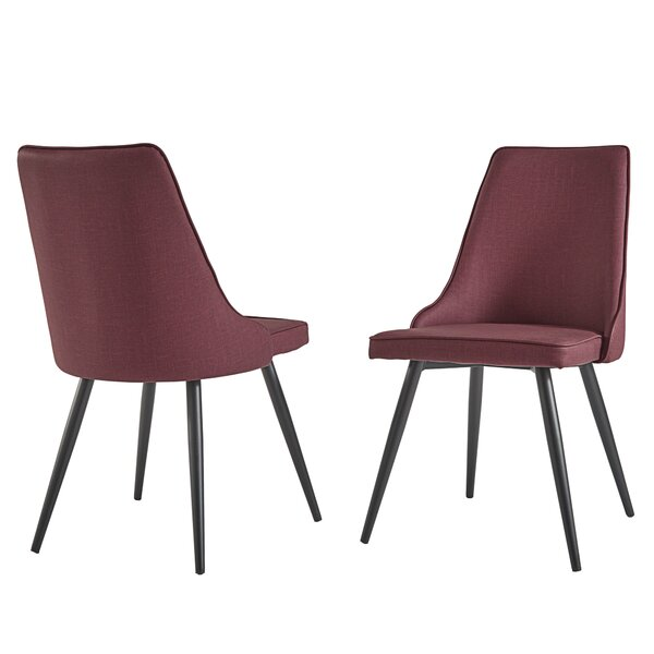 Caskey Upholstered Dining Chair (Set of 2) by George Oliver