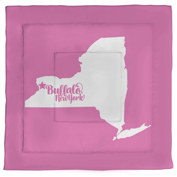 Buffalo New York Single Reversible Comforter