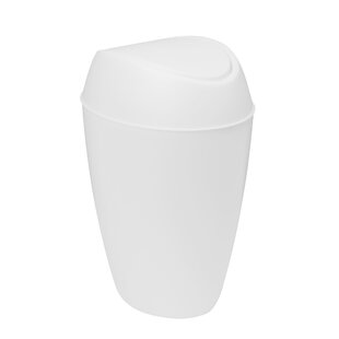 Twirla Plastic 2.2 Gallon Swing Top Trash Can by Umbra