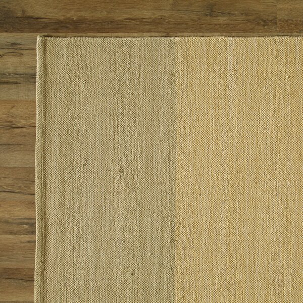 Jaya Parchment Hand-Woven Area Rug by Birch Lane™