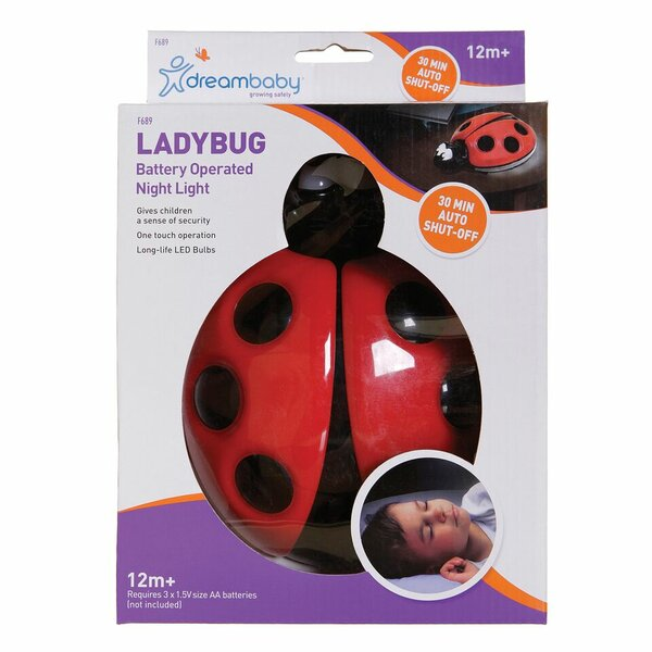 Ladybug Night Light by Dreambaby