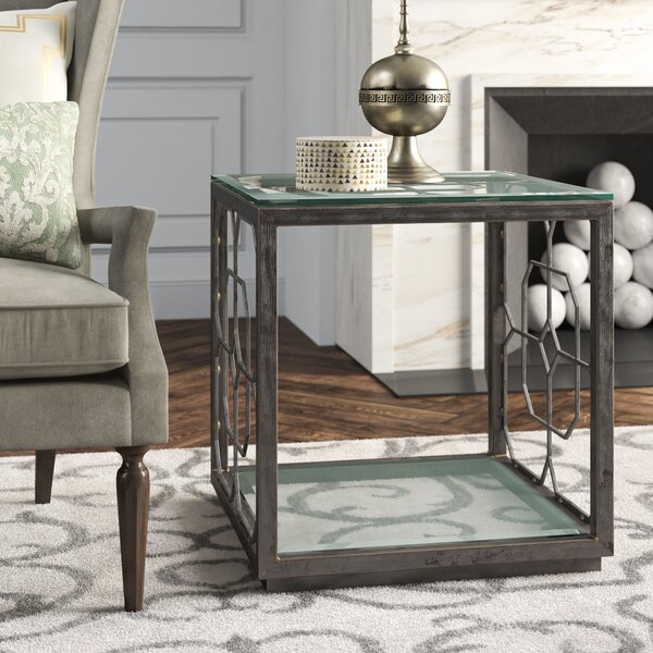 Metal Designs End Table by Artistica Home Artistica Home